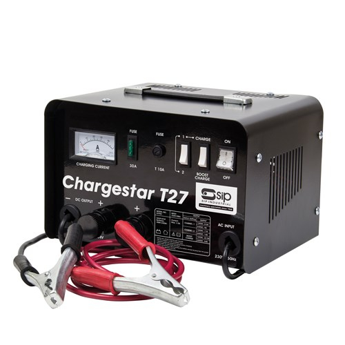 SIP CHARGESTAR T27 HEAVY DUTY BATTERY CHARGER