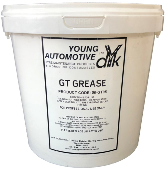 GT TYRE FITTING GREASE 5KGS