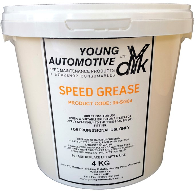 SPEED GREASE YELLOW 4KG DRYS CLEAR