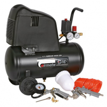 SIP 245/25 + 7PC KIT AIR COMPRESSOR