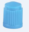 PLASTIC DUST CAP BLUE