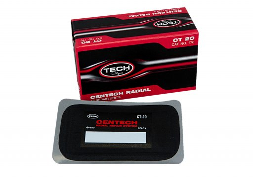 TECH CT20 CENTECH RADIAL REPAIR PATCH 75 X 125 MM