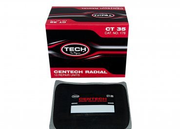 TECH CT35 CENTECH RADIAL REPAIR PATCH 125 X 150 MM