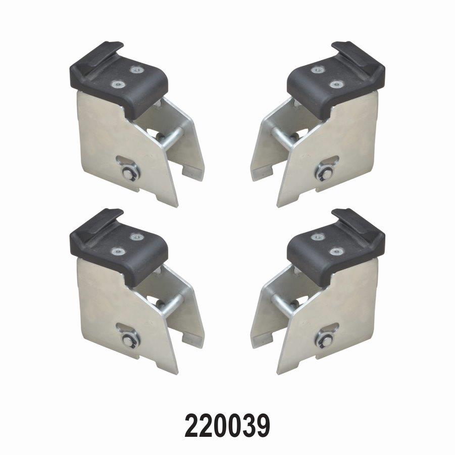 MOTOR CYCLE ADAPTOR KIT 4 PCS FOR DIRECT CLAMPING