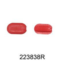 223838R RED PLASTIC INSERTS CORGHI MASTER