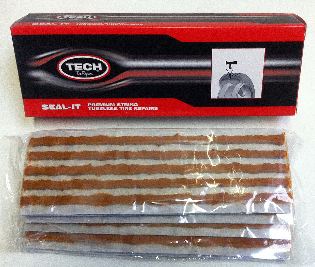 TECH 242BRN 200MM THICK BROWN STRING