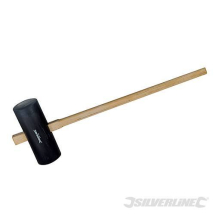 15LB RUBBER HEAD MAUL HAMMER 35inch HANDLE