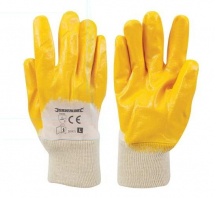 282475 OPEN BACK NITRILE GLOVES LARGE