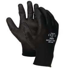 BODYGUARDS MATRIX P-GRIP BLACK GLOVES SIZE 10 (LARGE)