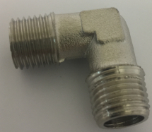 AIR INLET 90 DEGREE 1/4inchMALE TO 1/4inch MALE