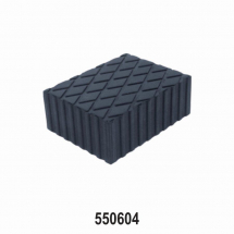 RUBBER PAD FOR PASSENGER LIFT 160MM X 120MM X 60MM