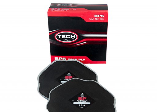 TECH BP-5 CROSSPLY BIAS REPAIR PATCH 165 X 165 MM