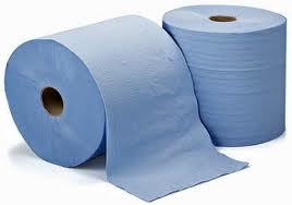 LARGE BLUE ROLL X 2