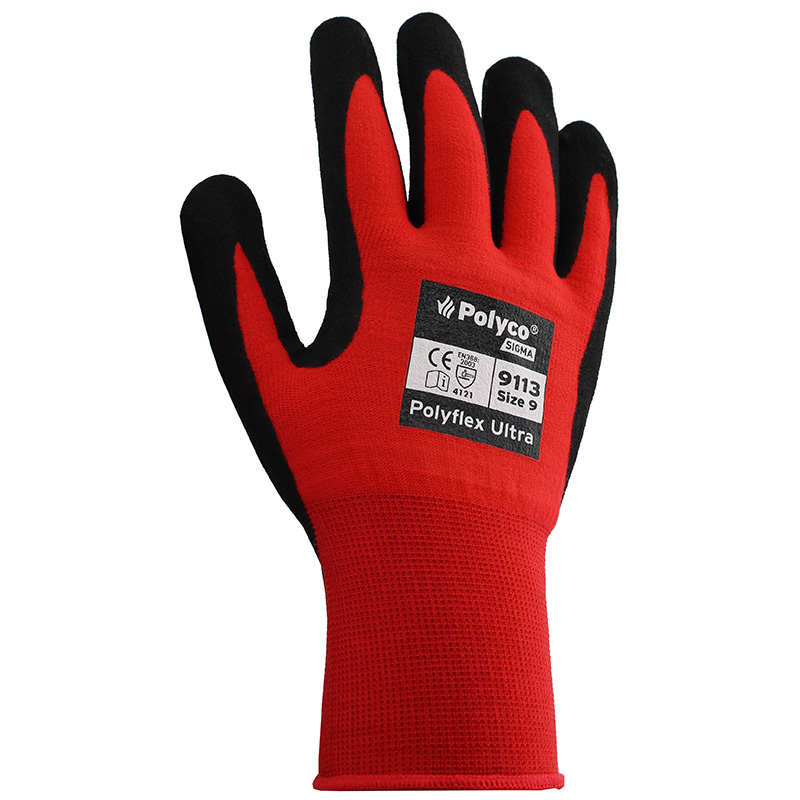 BODYGUARDS POLYFLEX ULTRA GLOVES SIZE 10 (LARGE)
