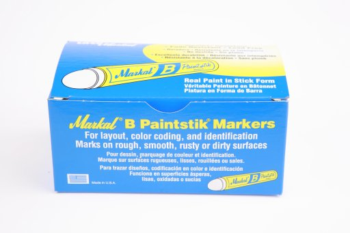 MARKAL PAINT STICKS WHITE x 12