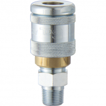 100 SERIES COUPLING MALE THREAD 1/2