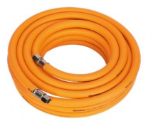 AIRLINE HOSE 10 METER X 10MM HYBRID HIGH VISIBLITY 1/4 BSP
