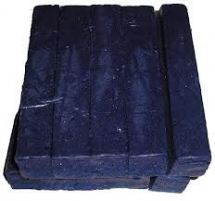 BLUE WAX CRAYON X 10