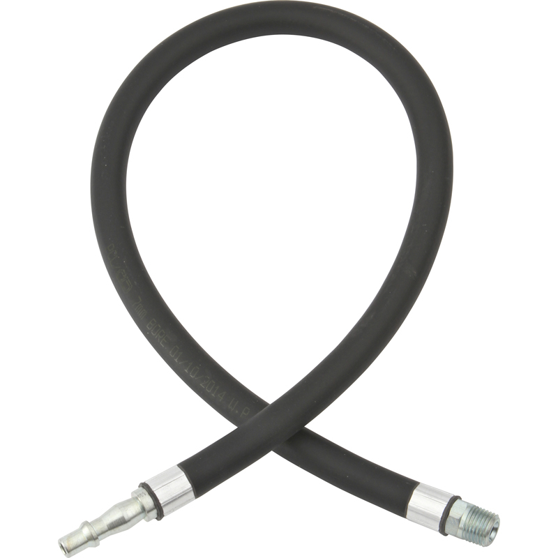 WHIP HOSE WITH STANDARD ADAPTOR & R 1/4 MALE FITTINGS