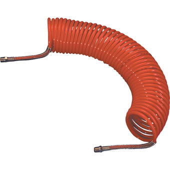 HA5201 NYLON COILED AIR HOSE WITH A 7.6 M HOSE LENGTH