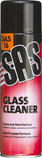SAS16 GLASS CLEANER 500ML SPRAY
