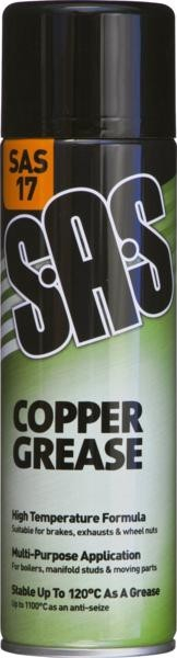 SAS17 COPPER GREASE 500ML SPRAY