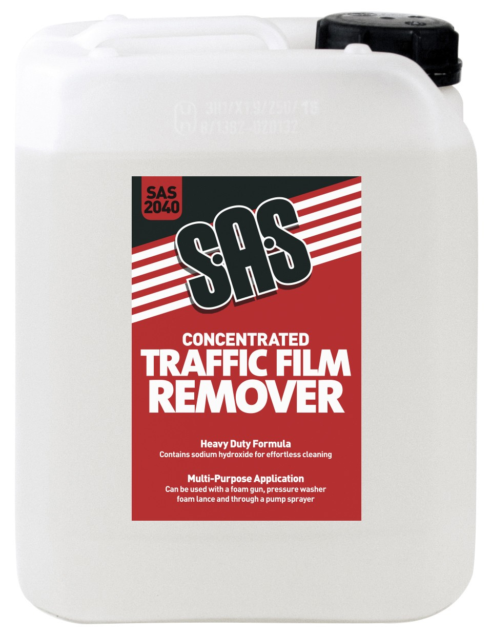 SAS2040 CONCENTRATED TRAFFIC FILM REMOVER 5 LITRES