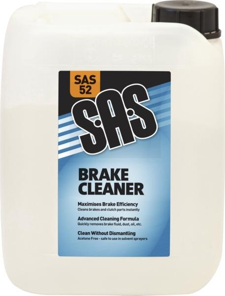 SAS52 BRAKE CLEANER 5 LITRES