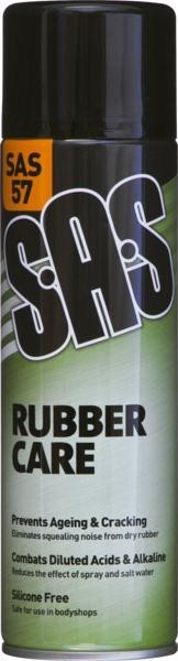 SAS57 RUBBER CARE 500ML SPRAY