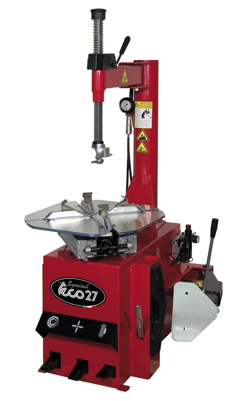 TECO 27 SWING ARM TYRE CHANGER SINGLE PHASE SEMI AUTOMATIC