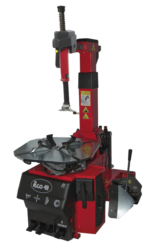TECO 48 FULLY AUTOMATIC TYRE CHANGER SWING ARM