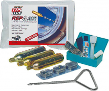 TY191 REMA TIP TOP MOTORCYCLE REPAIR & INFLATE KIT TUBELESS