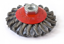 SIT CONICAL BRUSH TWIST KNOT M14 X 95MM