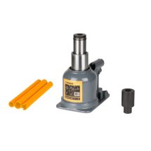 09865 WINNTEC 10 TON BOTTLE JACK TELESCOPIC Y411000